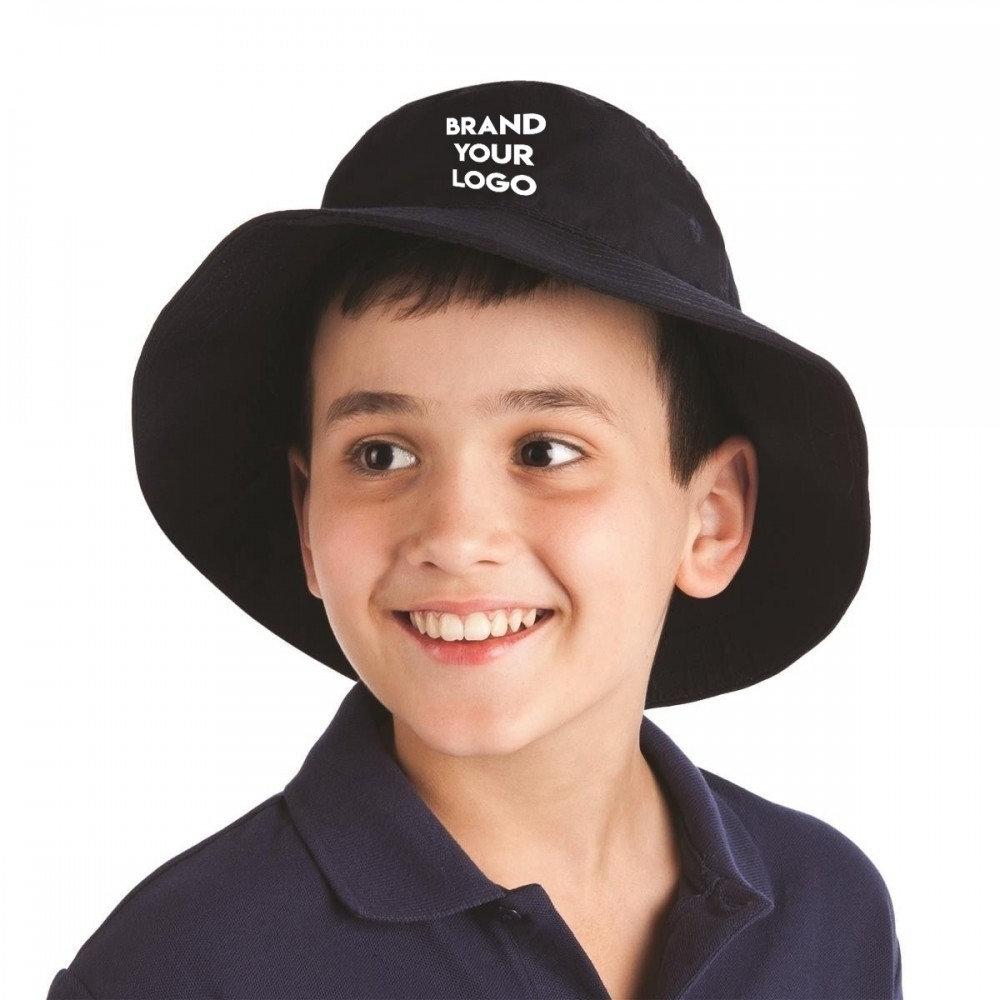 Custom branded bucket hats | kids and adults sizes, Australia