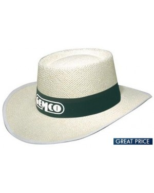 Promotional Classic White Staw Hat