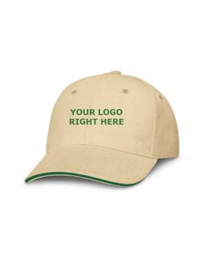 Promotional Unbleached Cotton Caps