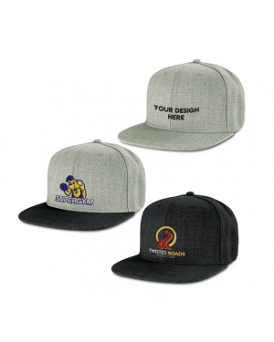 Structured Cotton Event Caps Branded