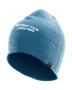 The Peak Knitted Logo Beanie