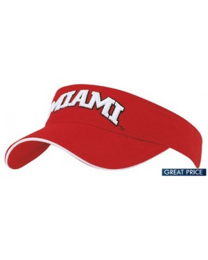 Printed Brushed Heavy Cotton Visor