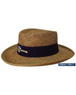 Promotional Classic Brown Straw Hat