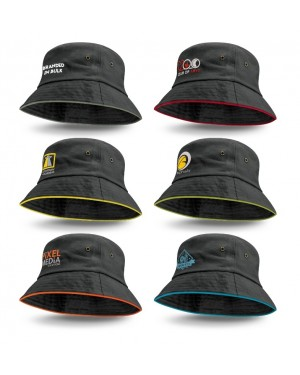 Delta Bucket Hats Logo Branded
