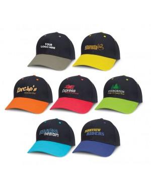 Dual Colour Custom Decorated Caps