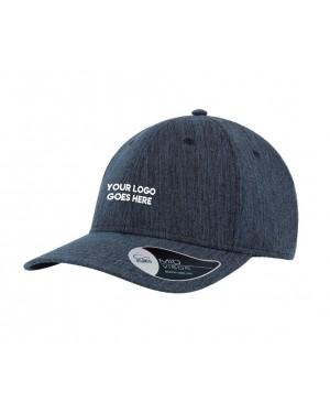 Heathered Promo Caps Bulk Branded