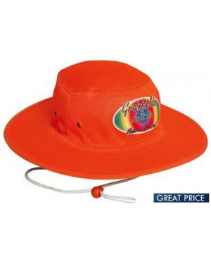 Printed High Vis Bucket Hat