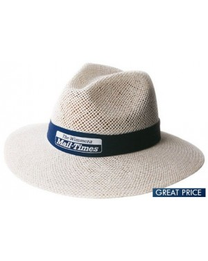 Promotional Madrid Style Straw Hat