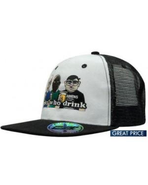 Twill Mesh Hiphop Cap