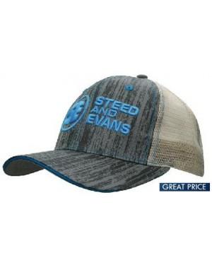 Branded Wood Look Caps